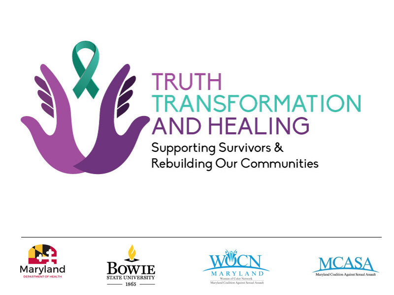 Event graphic: Truth, Transformation, & Healing