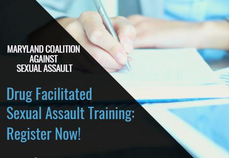 MCASA's Drug Facilitated Sexual Assault Training